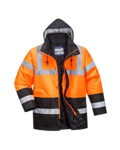 Hi-Vis Two Tone Traffic Jacket - S467OBRL