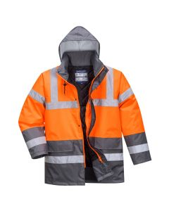 Hi-Vis Two Tone Traffic Jacket - S467OGYL