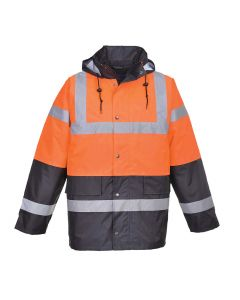 Hi-Vis Two Tone Traffic Jacket - S467ORR4XL