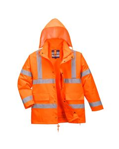 Hi-Vis 4-in-1 Traffic Jacket - S468ORR4XL