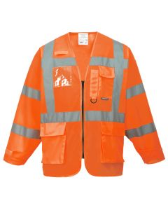 Hi-Vis Executive Jacket - S475ORRL