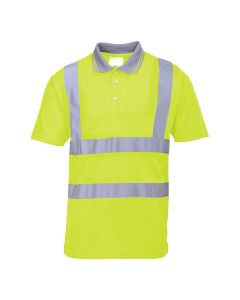 Portwest Hi-Vis Short Sleeve Polo - S477