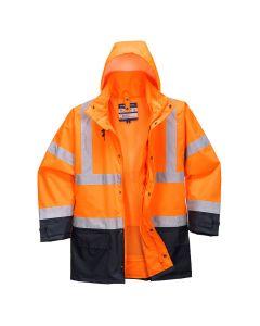 Hi-Vis Executive 5-in-1 Jacket - S768ONRL