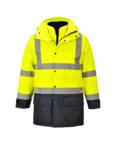 Hi-Vis Executive 5-in-1 Jacket - S768YNRL