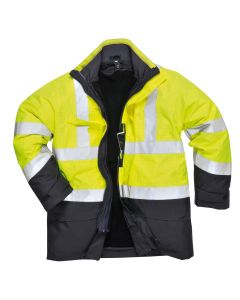 Bizflame Rain Hi-Vis Multi-Protection Jacket - S779YNRL
