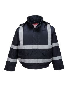 Portwest Bizflame Rain FR Multi Protection Bomber Jacket - S783