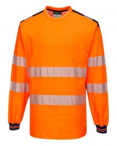 PW3 Hi-Vis T-Shirt L/S - T185ONR4XL