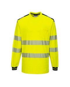 PW3 Hi-Vis T-Shirt L/S - T185YBR4XL