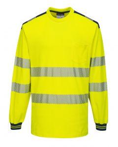PW3 Hi-Vis T-Shirt L/S - T185YNR4XL