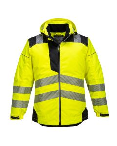 Portwest PW3 Hi-Vis Winter Jacket - T400