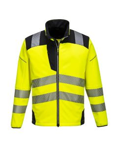 Portwest PW3 Hi-Vis Softshell Jacket - T402