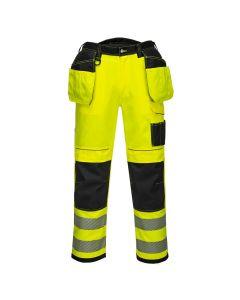 Portwest PW3 Hi-Vis Holster Work Trouser - T501