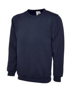 ULTIMATE CLOTHING 50/50 H/W SET-IN SWEATSHIRT - UCC002