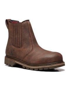 V1231 - RAWHIDE SBP BROWN DEALER BOOT