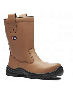 V12 S1P POLAR TAN FUR LINED RIGGER BOOT - V6816.01