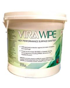 Virawipe High Performance Surface Sanitiser 3L Tub 225 wipes AVW225