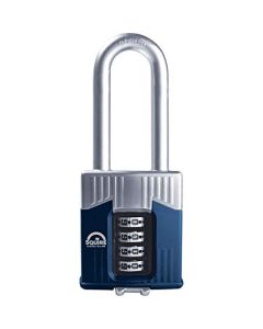 Squire Warrior 55mm long shackle combination padlock