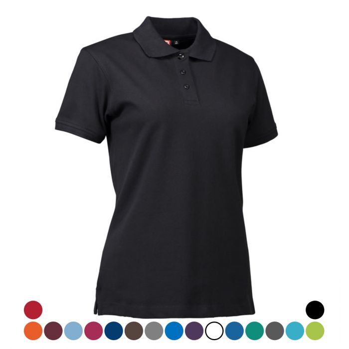 ID PIQUE POLO SHIRT LADIES 0527