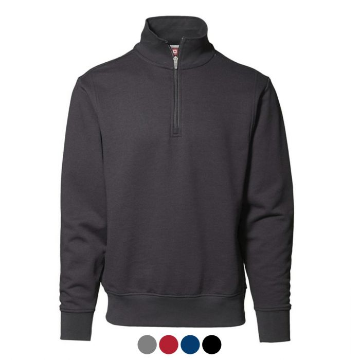 ID 1/4 ZIP HIGH COLLAR SWEATSHIRT 0603