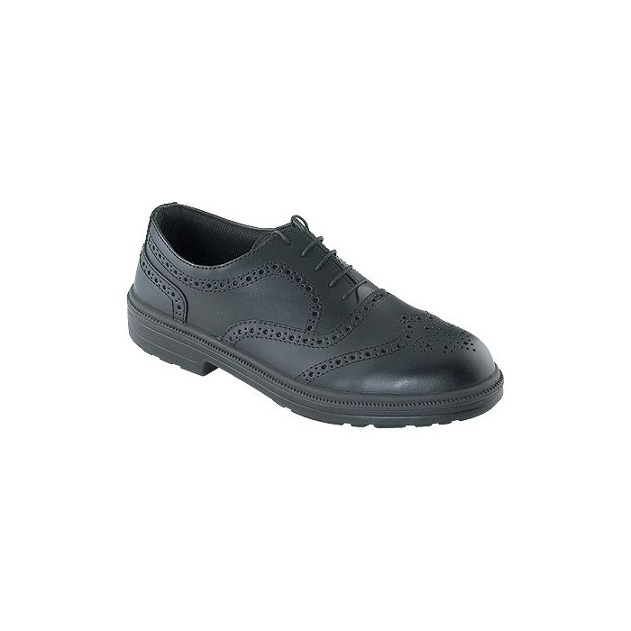 Tuf Executive Brogue Black Safety Shoe 142014