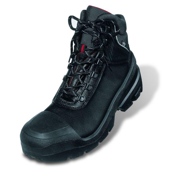 UVEX QUATRO BLACK SAFETY BOOTS 8401/2
