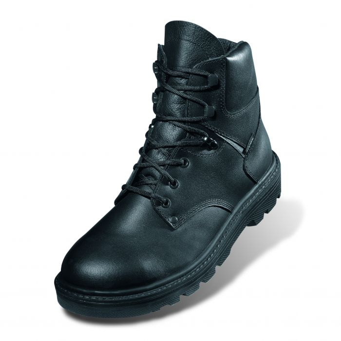 8451/2-CLASSIC BLACK BOOT STEEL MIDSOLE