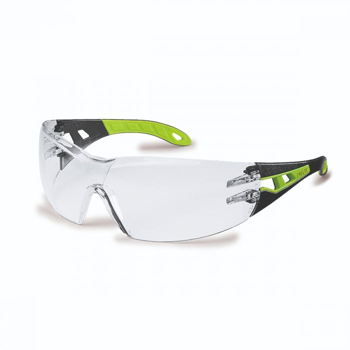 UVEX PHEOS CLEAR LENS SAFETY SPECTACLE - 9192225