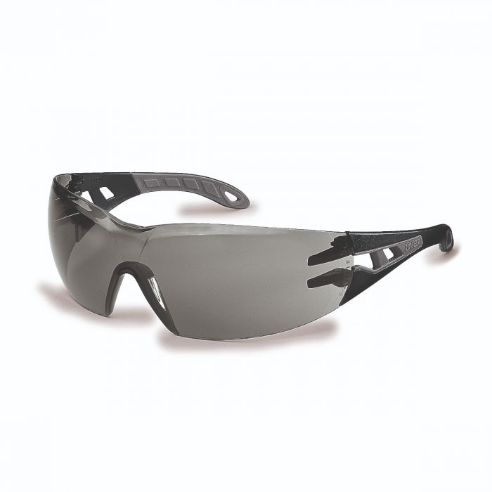 UVEX PHEOS GREY SMOKED LENS SAFETY SPECTACLE - 9192285