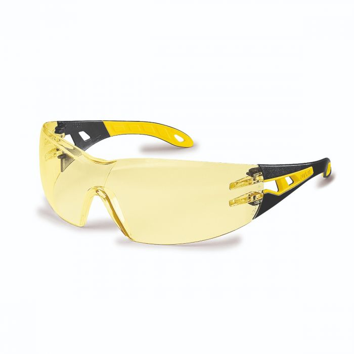 UVEX PHEOS AMBER LENS SAFETY SPECTACLE - 9192385