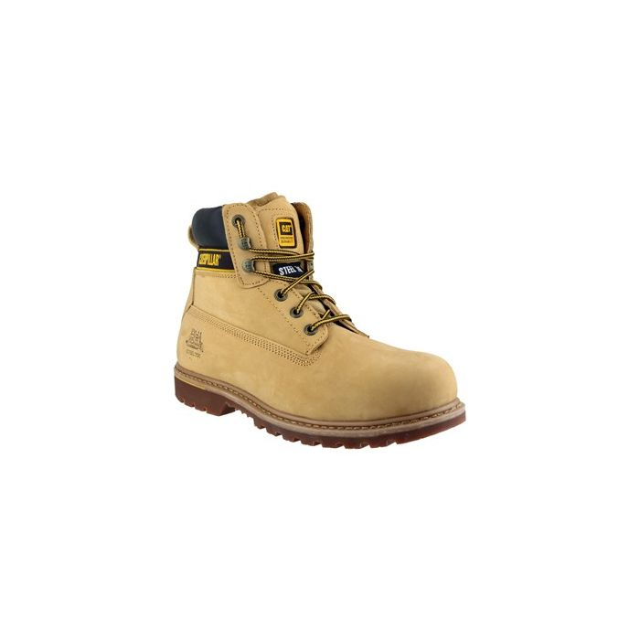 CATERPILLAR HOLTON SB STEEL TOE BOOTS