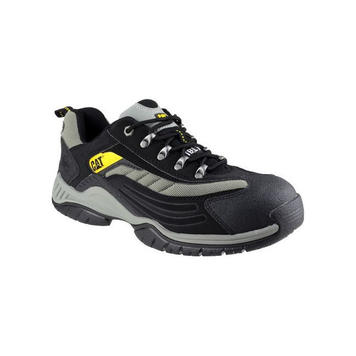 CATERPILLAR MOOR BLACK SB SAFETY TRAINERS
