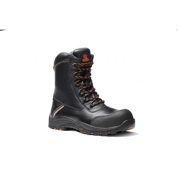 E1300-DEFIANT S3 HRO OUTSIZE HIGH LEG ZIP BOOT