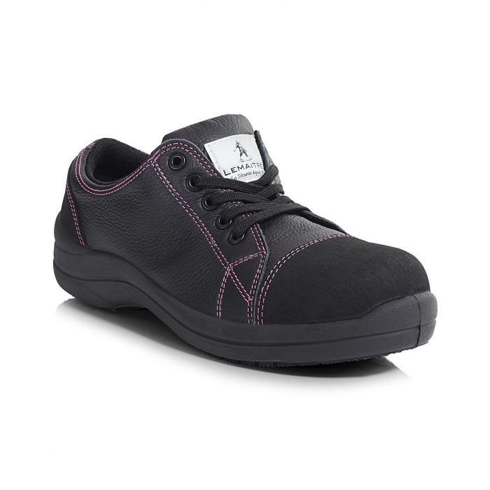 PB203-BLK Libertine Low Trainer - Black Ladies Shoe