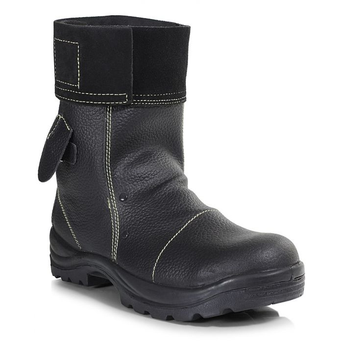 PB25-BLK Mid Length Foundry Boot