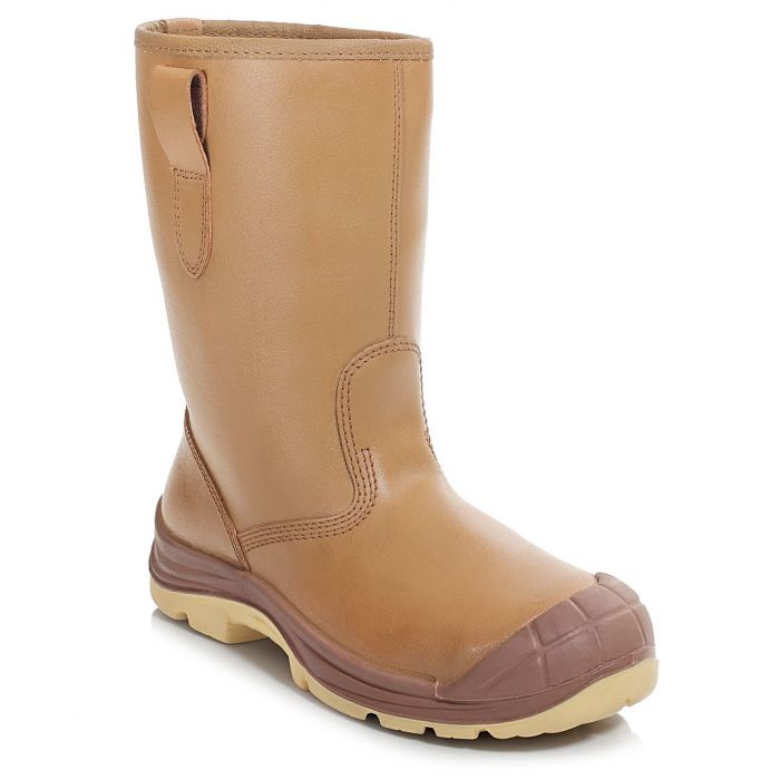 PB43C-TAN Unlined Rigger Boot c/w Cap