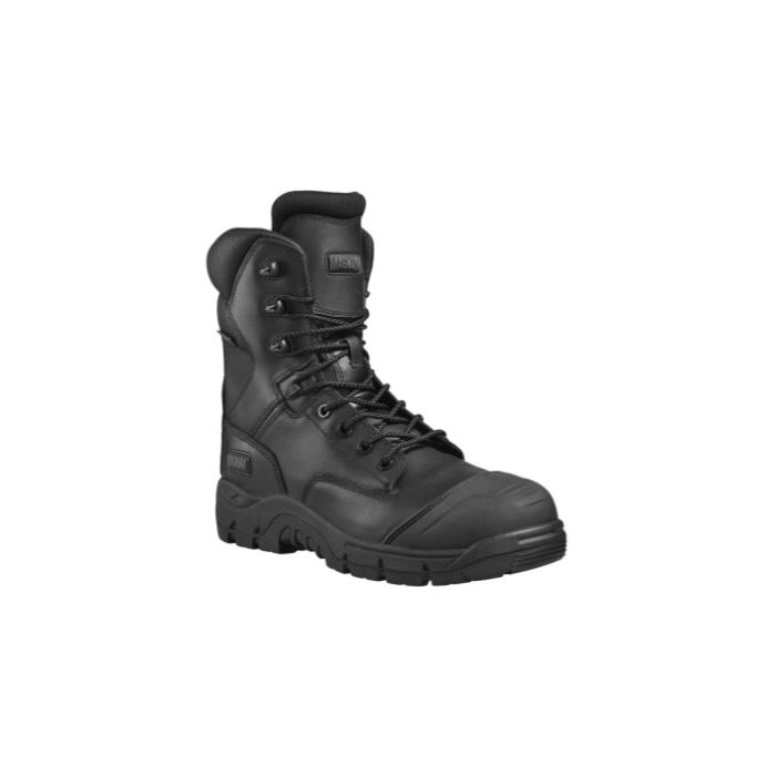 HI-TEC MAGNUM PRECISION RIGMASTER 8.0 BLACK NON METALLIC WATERPROOF BOOT M801365