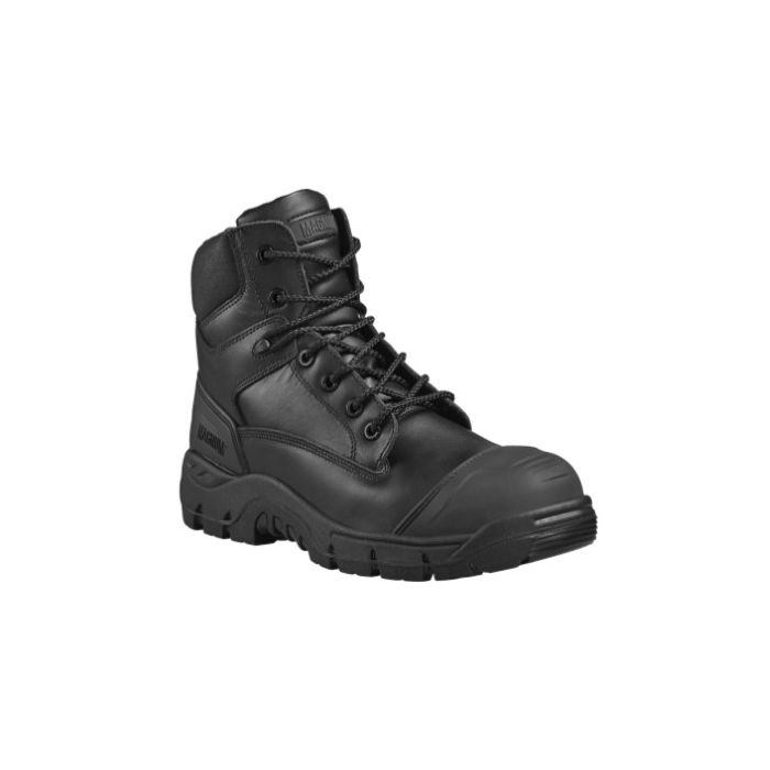 HI-TEC MAGNUM ROADMASTER BLACK NON METALLIC S3 WATERPROOF SAFETY BOOTS M801231