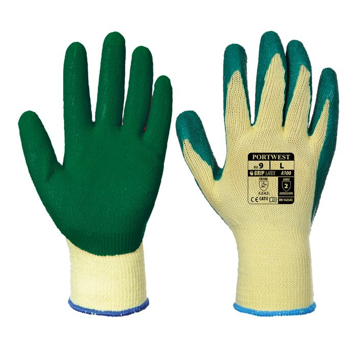 Portwest Grip Glove - Latex - A100