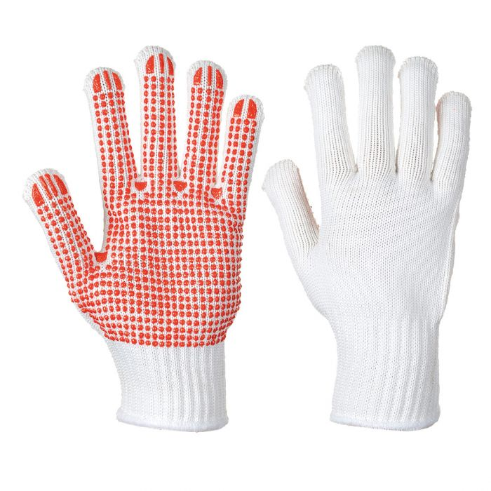 Portwest Heavyweight Polka Dot Glove - A112