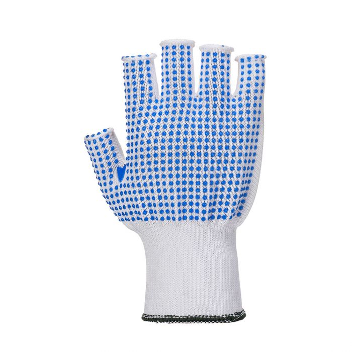 Portwest Fingerless polkadot glove - A114