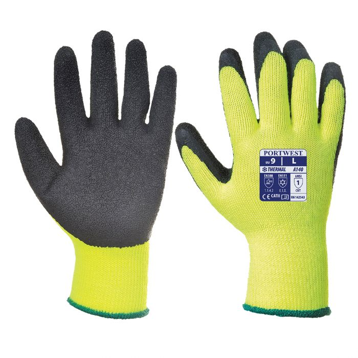 Portwest Thermal Grip Glove - Latex - A140