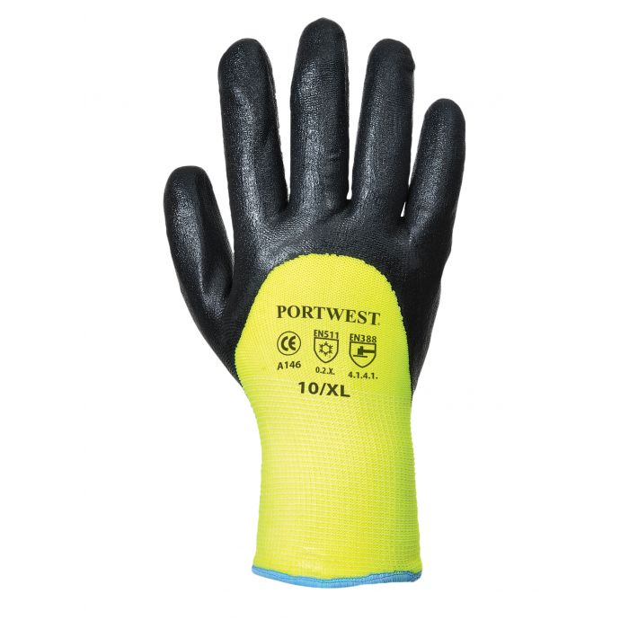 Portwest Arctic winter Nitrile Twin Lined Gloves - A146