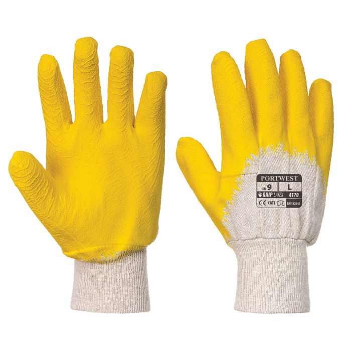 Portwest Gristle Latex Glove - A170