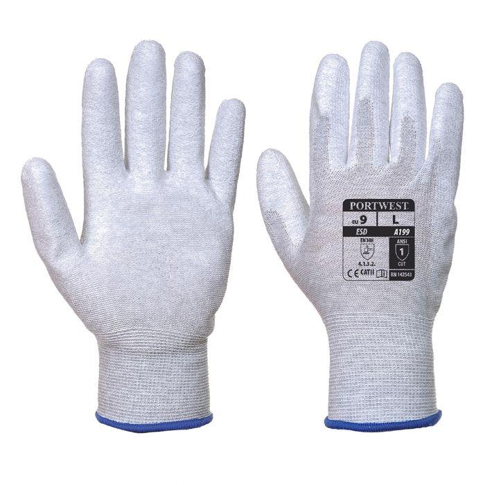 Portwest Antistatic PU Palm Glove - A199