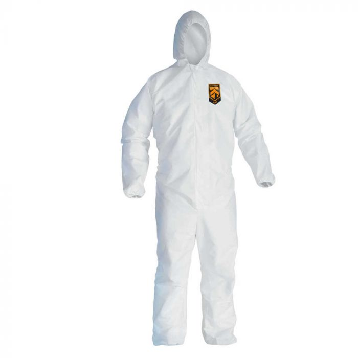 KLEENGUARD DISPOSABLE COVERALL A40 WHITE