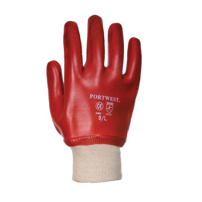 Portwest PVC Knitwrist - A400