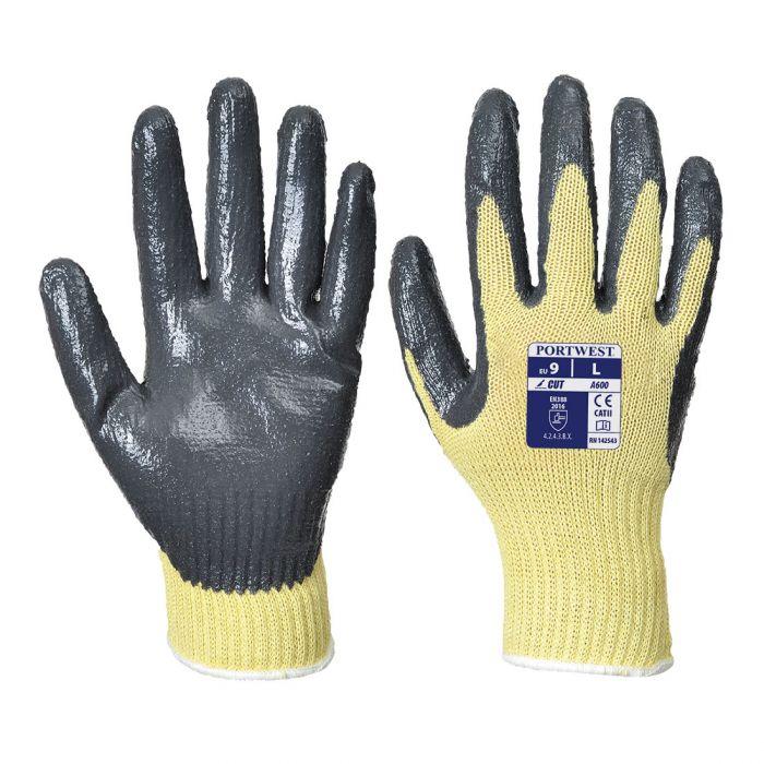 Portwest Cut 3 Nitrile Grip Glove - A600
