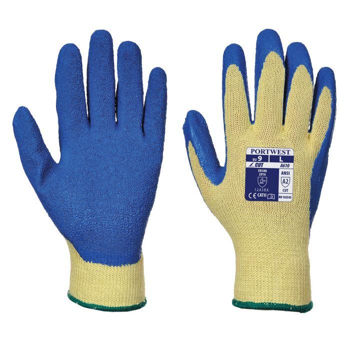 Portwest Cut 3 Latex Grip Glove - A610