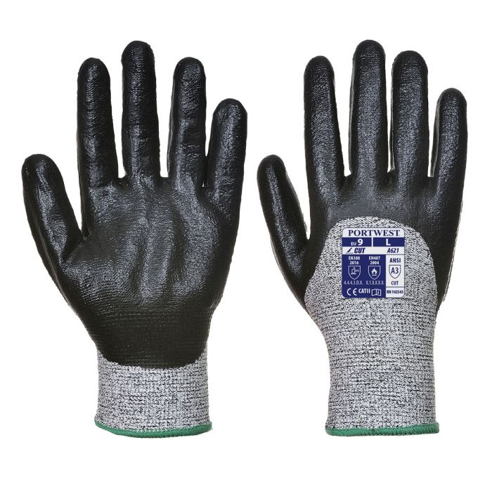 Portwest Cut 3/4 Nitrile Foam Glove - A621