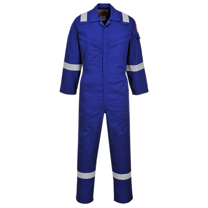 Portwest Araflame Silver Coverall - AF73